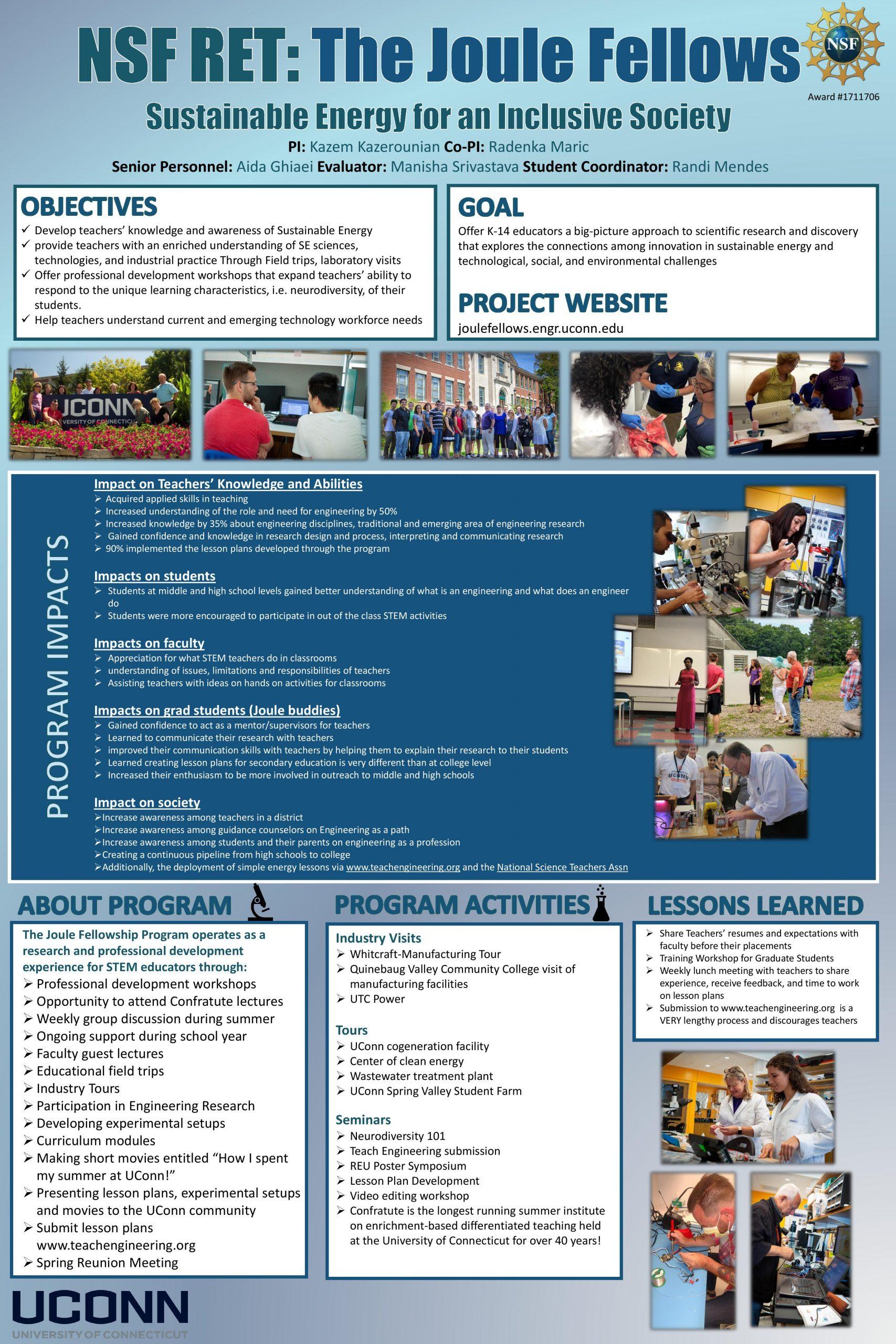 Joule Fellows Program